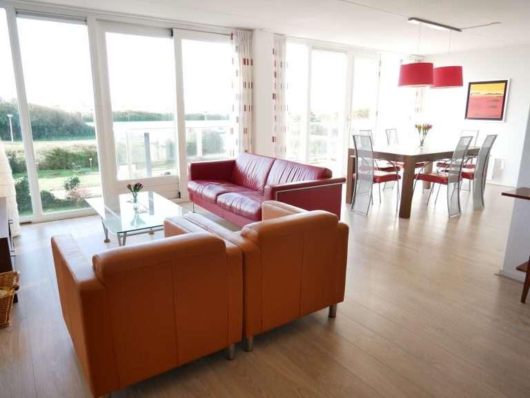 Appartement Het Strandleven 102 Groote Keeten - Woonkamer