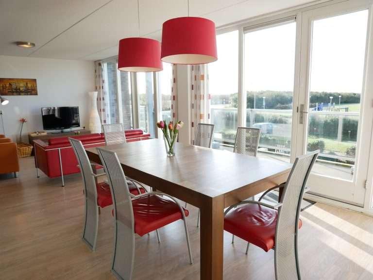 Appartement Het Strandleven 102 Groote Keeten - Keukentafel