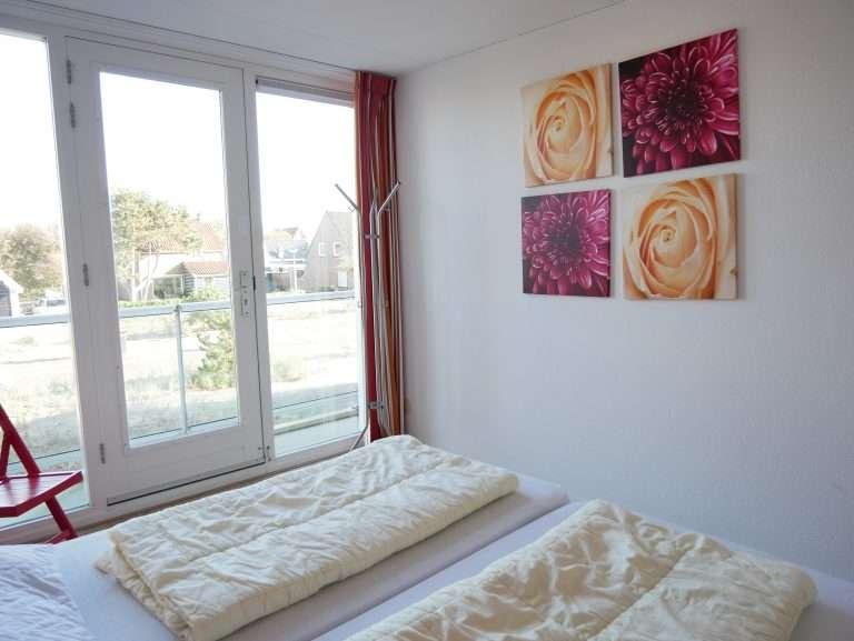Appartement Het Strandleven 102 Groote Keeten - Slaapkamer