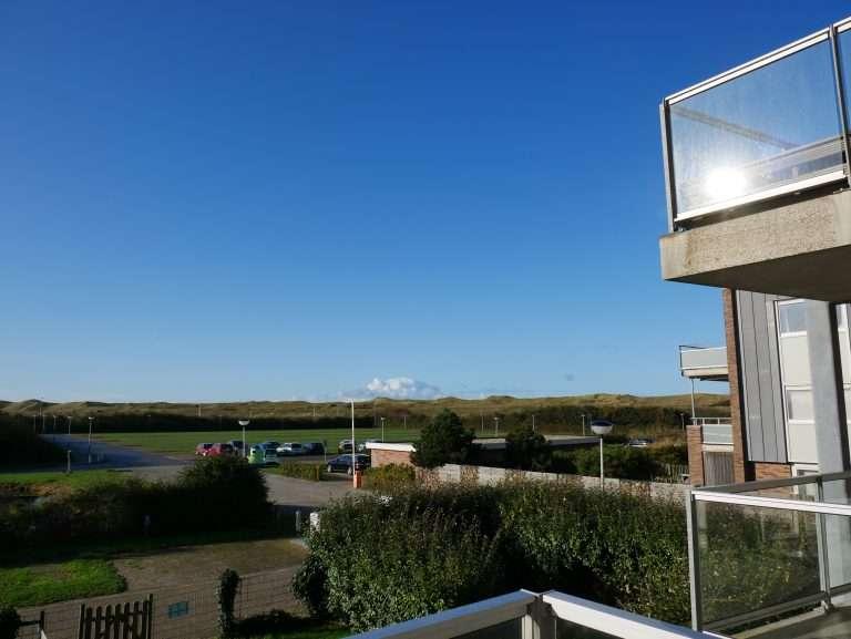Appartement Het Strandleven 102 Groote Keeten - Uitzicht vanaf balkon