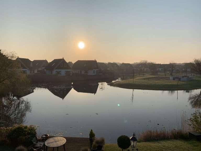 Vakantiepark De Buitenplaats in Callantsoog - Zonsondergang